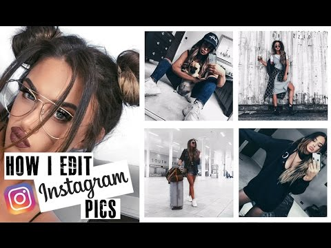 How I edit my Instagram pics! PLUS TIPS!