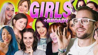11 GIRLS singen zusammen einen Song + Broady | Rezo | REACTION