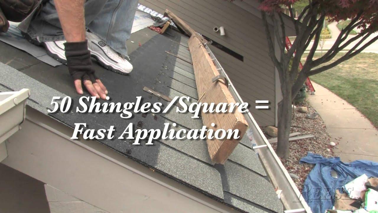 Reese Tips   Installing CertainTeed Highland Slate Shingles Ytv66B   YouTube