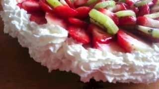 Kondenspiima-mascarpone Tort