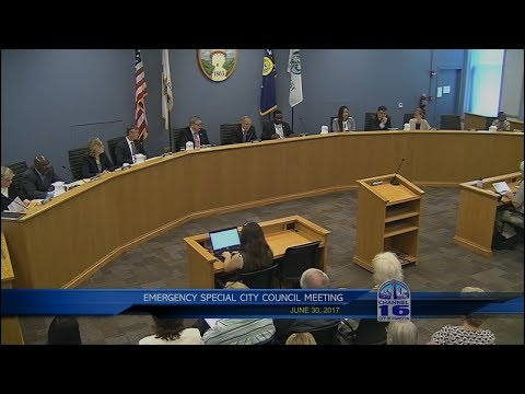 Emergency Special City Council Meeting 6/30/2017
