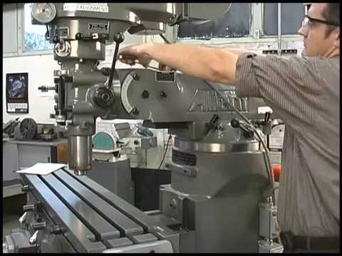 How do I rotate the milling machine head in the Y ...