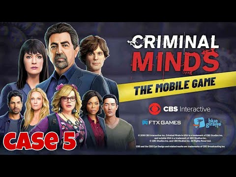 Criminal Minds The Mobile Game Case 5 Full Gameplay Android/ios