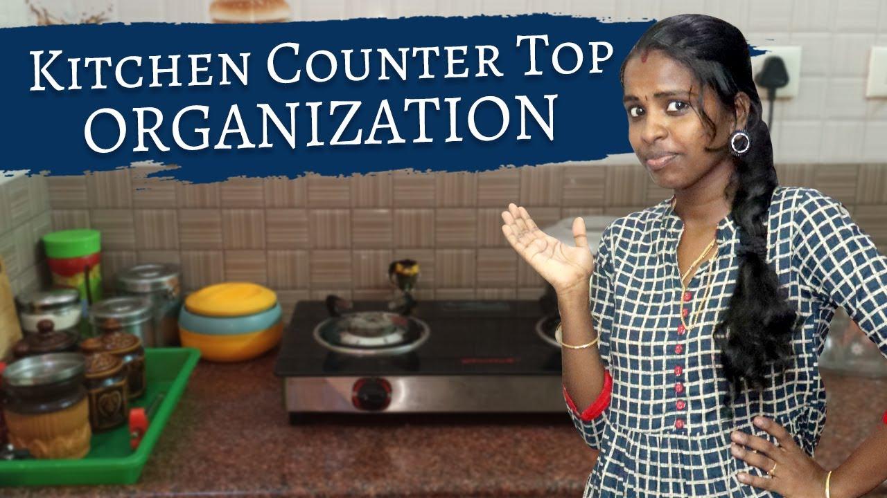 Kitchen Counter Top Organisation | Kitchen Organization Tips | Vlogs in Tamil | Nan En Maganum
