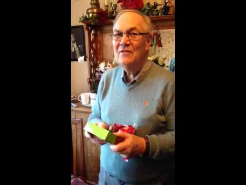 Dad opens arse/face soap