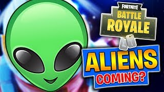 Aliens Coming To Fortnite?! *New Battle Pass Skins* Fortnite Battle Royale (PS4 Pro)