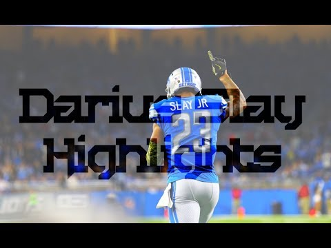 "Darius Slay "" Big Play Slay "" Highlights"