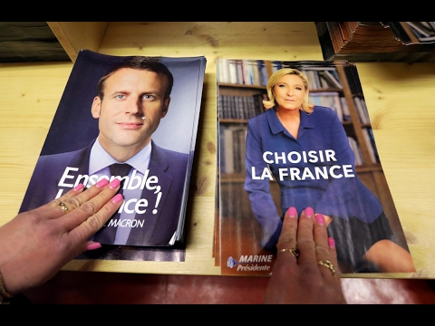 In presidential election, French youth confront 'two visions of France'