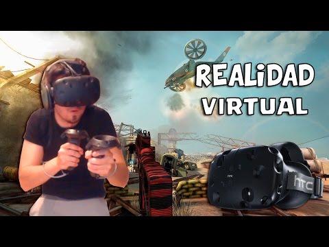 EL MEJOR SHOOTER DE REALIDAD VIRTUAL!? | Overkill VR (HTC VIVE)