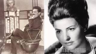 Pilar Lorengar. El Carro del Sol. Jose Serrano.