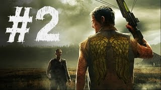 The Walking Dead Survival Instinct Gameplay Walkthrough Part 2 - Sheriff Station (Video Game)