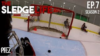 Sledge Life - Skating Drills + Mini Game (GoPro Hockey_