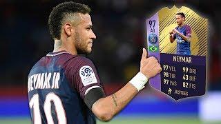 NEYMAR 97 POTY COMPLETATO! MEGLIO DI MESSI TOTS!? - FIFA 18