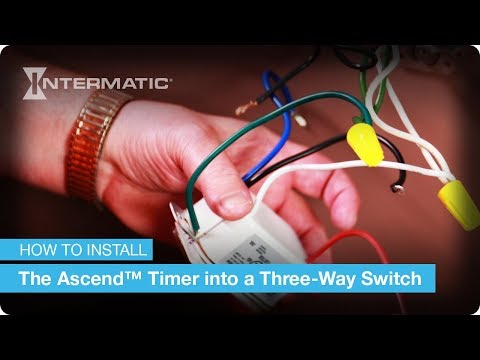 three way switch wiring instructions for the ascend™ in wall timer by intermatic Controller Wiring Diagram