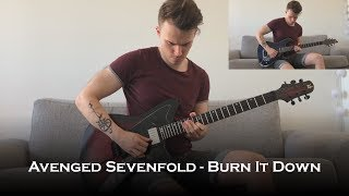Avenged Sevenfold - Burn It Down (Guitar Cover + All Solos)