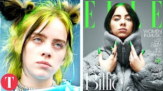 The Meaning Behind Billie Eilish's Many Faces On Covers