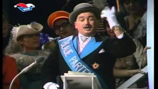 Der Mann von der Blauen Partei alias Toni Geller - Büttenrede 1968