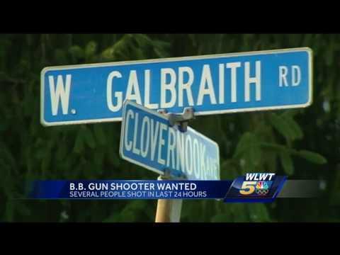 Several people shot by BB gun across Cincinnati