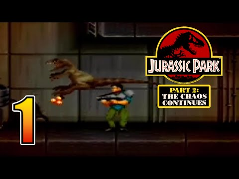This is Actually Scary! || Jurassic Park The Chaos Continues SNES [ Jurassic Park Month ]