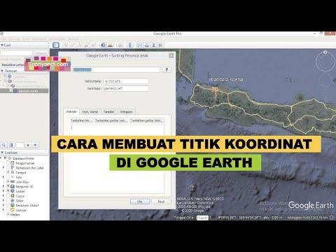 Tutorial penandaan titik koordinat dengan menggunakan google earth.