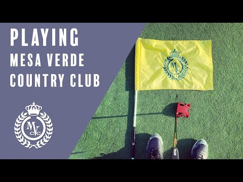 Playing Mesa Verde Country Club in Costa Mesa, California