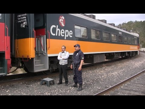 El Chepe Train Mexico; Spectacular Copper Canyon / Sierra Madre train journey HD 1080