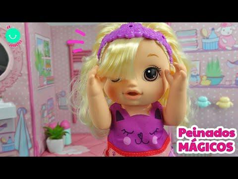 Baby Alive PEINADOS MÁGICOS ¡Qué bonita es esta muñeca!
