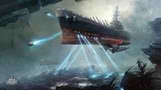 World of Warships: открытый космос