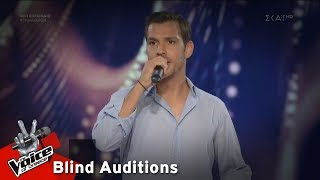 Yannis Sotiropoulos - An Eagle | Blind Audition | The Voice of Greece