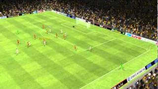 RC Lens vs Olympique Lyonnais - Michel Bastos Goal 79th minute