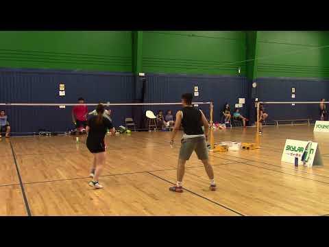 2017 Houston Open XD Ryan/Elita vs Minh/Chau