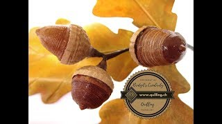 Bridgit's Quilling Acorns