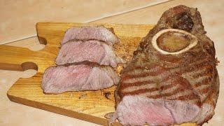 Стейк из говяжьей лопатки / Beef shoulder steak