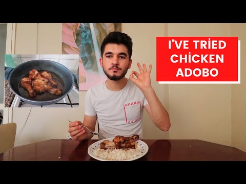 I TRIED PINOY CHICKEN ADOBO FOR THE FIRST TIME! I DIDN'T LIKE IT?!