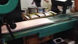 Vår Halm EM 4000 producerar 30,000 kuvert med tryck i timmen.