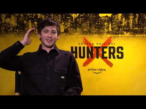 Logan Lerman Interview: Hunters