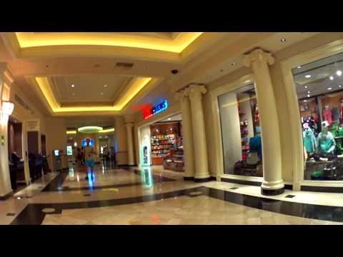 Walking Through Monte Carlo Las Vegas October 2014