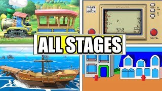 Smash Bros Ultimate: All 103 Stages!