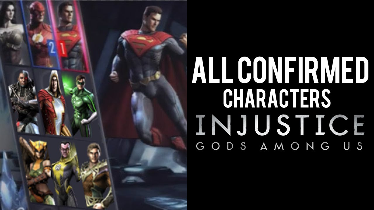 Injustice Gods Among Us: What We Know So Far - All ...