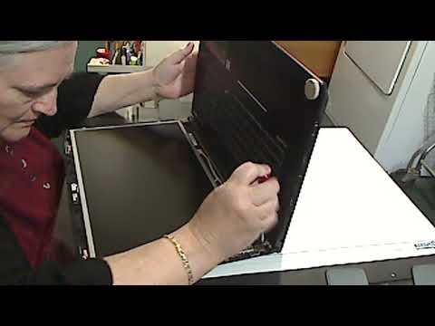 Laptop screen replacement MSI GE72 6QD Apache Pro (Part 2)