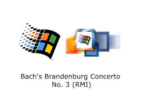Microsoft Windows - Bach's Brandenburg Concerto No. 3 (RMI)