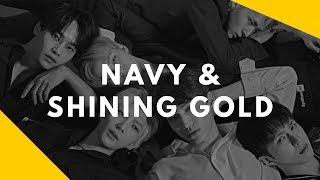 vixx navy shining gold