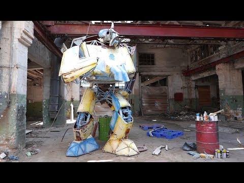 Укробот в Одессе создали робота-трансформера из «Запорожцев»