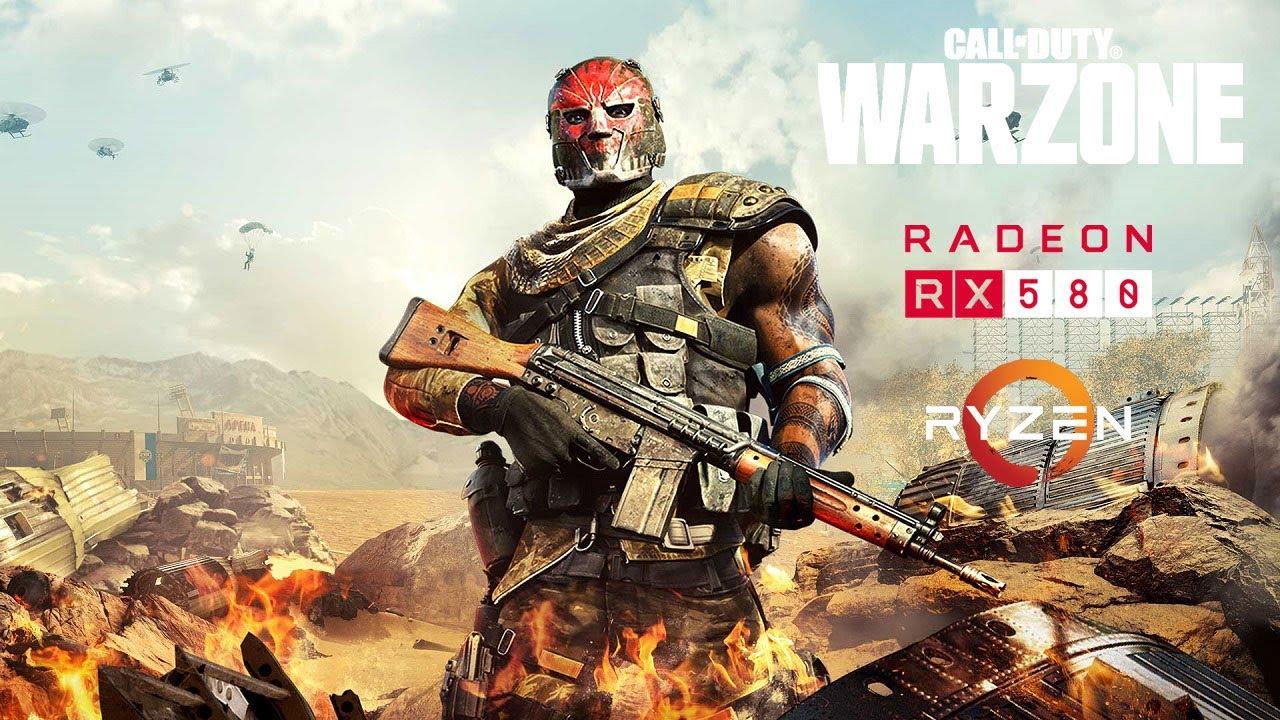 Call of Duty: Warzone - Season 4 - RX 580 - Ryzen 5 2600 - Low/Medium/High
