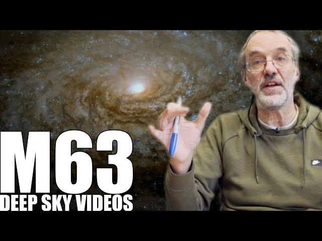 M63 - Sunflower Galaxy - Deep Sky Videos