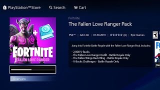 The NEW FALLEN LOVE RANGER Pack in Fortnite... (FREE VBUCKS)
