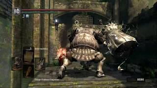 Dark Souls Boss Smough vs Taurus Demon , Drake, Gargoyles and Capra Demon - Full Playthrough