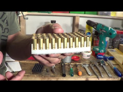 Reloading 9mm Luger on a single stage press