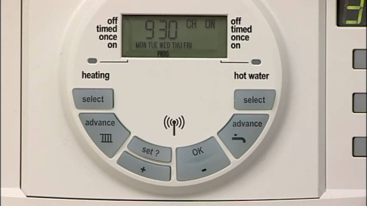 DT20RF Digital RF Thermostat with Twin Channel Programmer