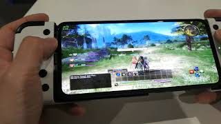 Egg NS Emulator 1.0.3 | Sword Art Online Hollow Realization | Switch Game on Android | Gamesir X2